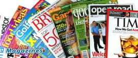 Personal Fundraising - magazines